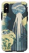 The Amida Waterfall In The Province Of Kiso  IPhone X Tough Case