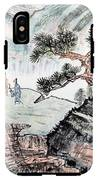 Traditional Chinese Painting , Landscape IPhone X Tough Case