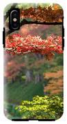 Trees In A Garden, Butchart Gardens IPhone X Tough Case