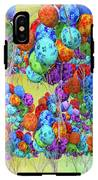 Tropical Print Balloons IPhone X Tough Case
