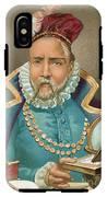 Tycho Brahe Illustration IPhone X Tough Case