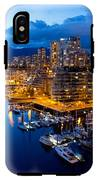 Vancouver Night View IPhone X Tough Case