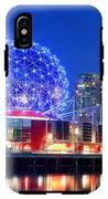 Vancouver Science World At Night IPhone X Tough Case