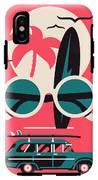 Vector Modern Flat Wall Art Poster IPhone X Tough Case