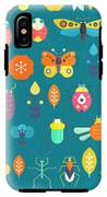 Vector Seamless Geometric Pattern With IPhone X Tough Case