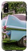 Vintage Blue Caddy American Vintage Car IPhone X Tough Case