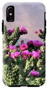Walking Stick Cactus And Wren IPhone X Tough Case
