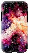 Watercolor Background With Outer Space IPhone X Tough Case