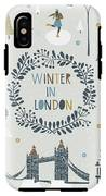 Winter In London IPhone X Tough Case