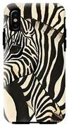Z Is For Zebras IPhone X Tough Case