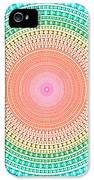 Multicolor Circle IPhone 5 Case by Atiketta Sangasaeng