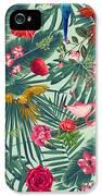 Tropical Fun Time  IPhone 5 Case by Mark Ashkenazi