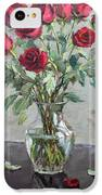Red Roses IPhone 5c Case by Ylli Haruni