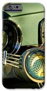 1956 Volkswagen VW Bug Steering Wheel 2 iPhone Case by Jill Reger
