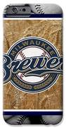 MILWAUKEE BREWERS iPhone Case by Joe Hamilton