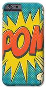 Comic Boom On Blue IPhone 6 Case by Mitch Frey