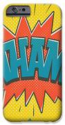 Comic Wham IPhone 6 Case by Mitch Frey