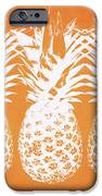 Orange And White Pineapples- Art By Linda Woods IPhone 6 Case by Linda Woods