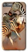 Zebras Fighting IPhone 6 Plus Case by Johan Swanepoel