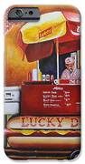 Lucky Dog Man In The Quarter IPhone 6s Case by Terry J Marks Sr