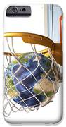 3d Rendering Of Planet Earth Falling IPhone Case by Leonello Calvetti