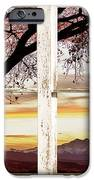 Sunset Tree Silhouette Abstract Picture Window View IPhone Case by James BO  Insogna