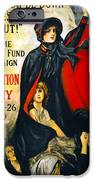 A Man May Be Down . . .   1919 IPhone Case by Daniel Hagerman