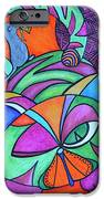 Abstract Kitty Galore IPhone 6s Case by Carol Hamby