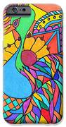 Abstract Peacock IPhone 6s Case by Carol Hamby
