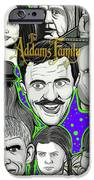Addams Family Portrait IPhone 6s Case by Gary Niles
