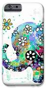 Blooming Elephants IPhone 6s Case by Karin Taylor