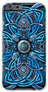 Blue And Silver Celtic Cross IPhone 6s Case by Richard Barnes