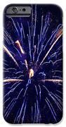 Blue Orange Fireworks Galveston IPhone 6s Case by Jason Brow