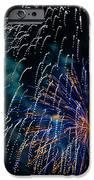 Blue Orange White Fireworks Galveston IPhone 6s Case