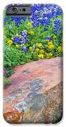 Boulder And Bluebonnets IPhone 6s Case by Thomas Pettengill