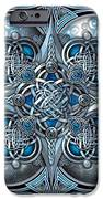 Celtic Hearts - Blue And Silver IPhone 6s Case by Richard Barnes