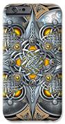 Celtic Hearts - Gold And Silver IPhone 6s Case by Richard Barnes