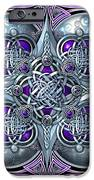 Celtic Hearts - Purple And Silver IPhone 6s Case by Richard Barnes
