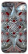 Celtic Hearts - Red IPhone 6s Case by Ricky Barnes