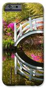 Charleston Sc Magnolia Plantation Spring Blooming Azalea Flowers Garden IPhone Case by Dave Allen