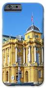 Croatian National Theater In Zagreb IPhone 6s Case by Borislav Marinic