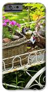 Flower Cart In Garden IPhone Case by Elena Elisseeva