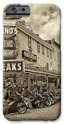Geno's With Cycles IPhone Case by Jack Paolini