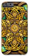 Gold Celtic Cross IPhone 6s Case by Richard Barnes