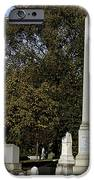 Graceland Chicago - The Cemetery Of Architects IPhone Case by Christine Till