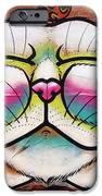 Graffiti Smiling Cat With Bird IPhone 6s Case by Victoria Herrera