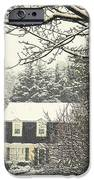 House In Snow IPhone 6s Case