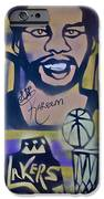 Laker Love IPhone Case by Tony B Conscious