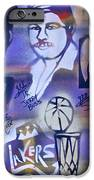 Lakers Love Jerry Buss 2 IPhone Case by Tony B Conscious