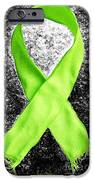 Lyme Disease Awareness Ribbon IPhone Case by Luke Moore